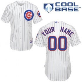 Chicago Cubs White Customized Jersey