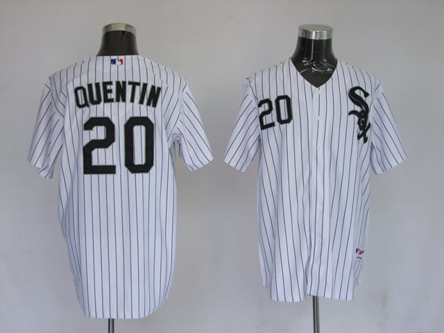MLB Jerseys Chicago White Sox 20 Quentin White softball jerseys
