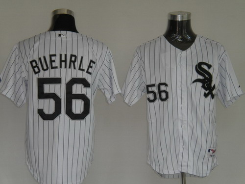 MLB Jerseys Chicago White Sox 56 Buehrle White softball jerseys