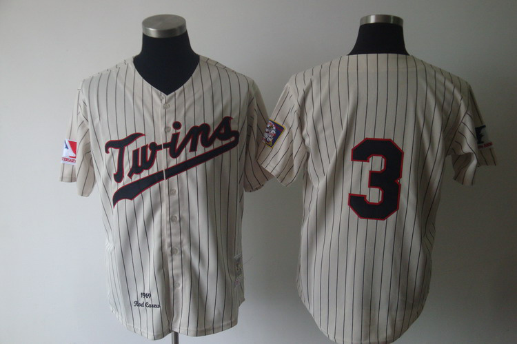 MLB Jerseys Minnesota Twins 3 Killebrew Cream softball jerseys