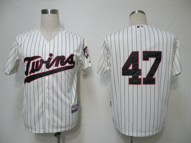 MLB Jerseys Minnesota Twins 47 Liriano Cream softball jerseys