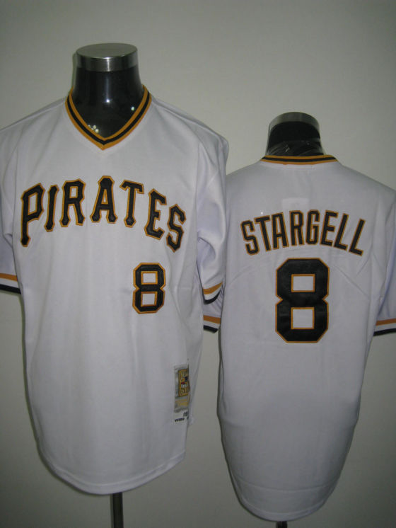 MLB Jerseys Pittsburgh Pirates 8 Stargell White softball jerseys