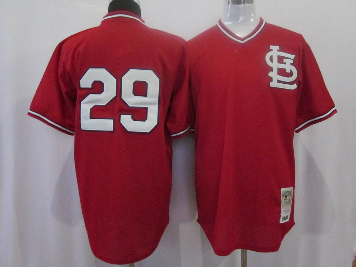 MLB Jerseys St.Louis Cardinals 29 Coleman Red softball jerseys