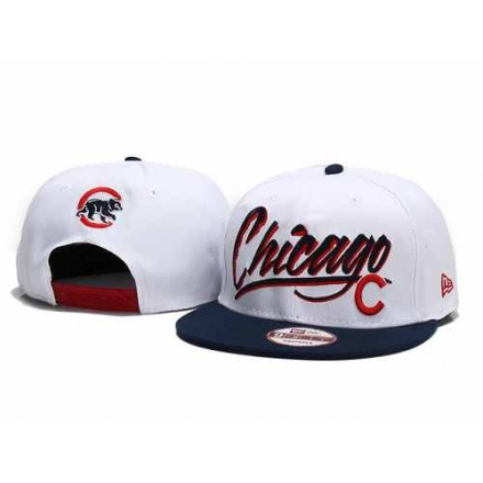 MLB Chicago Cubs Stitched Snapback Hats 008