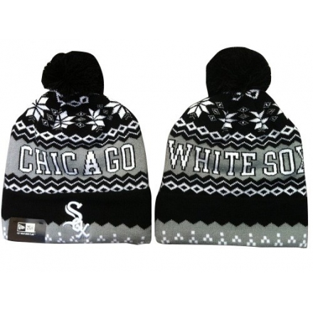 MLB Chicago White Sox Stitched Knit Beanies Hats 013