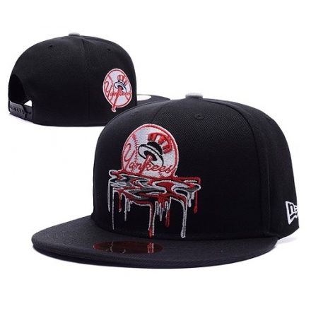MLB New York Yankees Stitched Snapback Hats 011